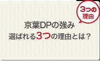 京葉DPの強み 選ばれる3つの理由とは?